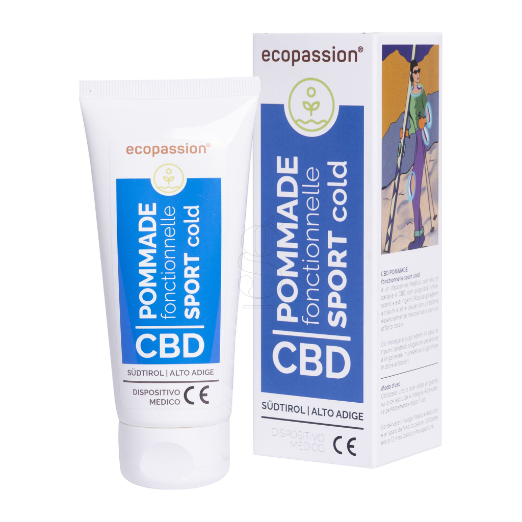 CBD POMMADE fonctionnelle SPORT COLD 100 ml – Medizinprodukt