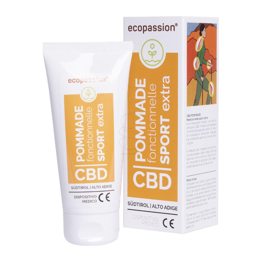 CBD POMMADE fonctionnelle SPORT EXTRA 100 ml -Medizinprodukt