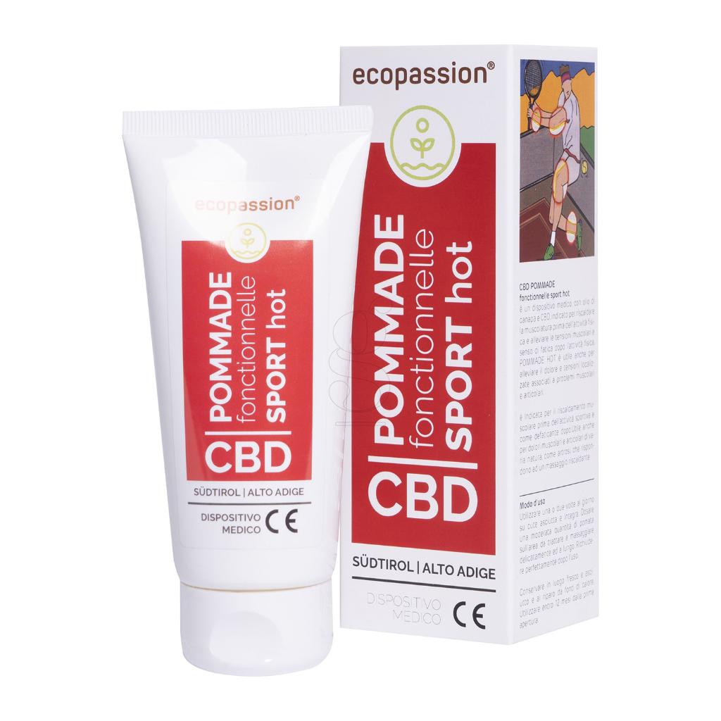CBD POMMADE fonctionnelle SPORT HOT 100 ml – Medizinprodukt