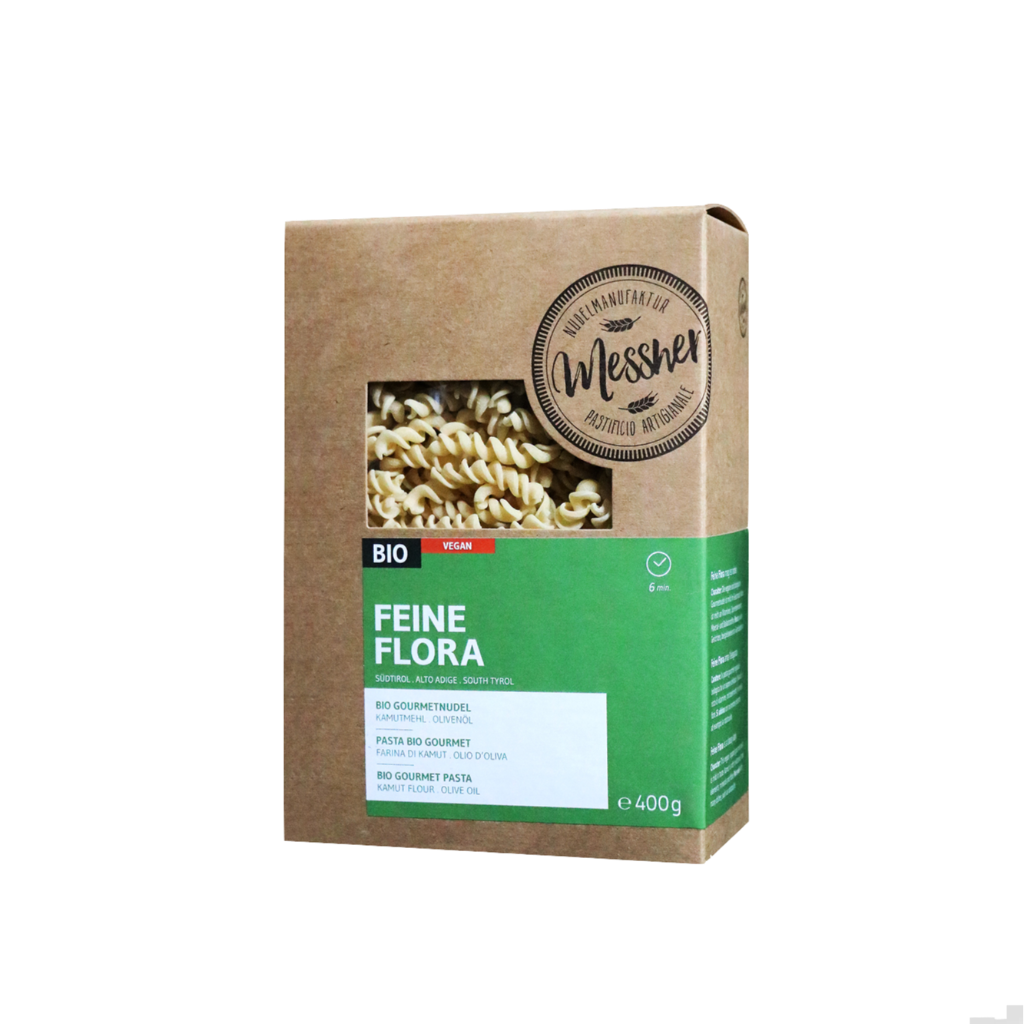 """BIO-Gourmetnudel """"Feine Flora"""""""