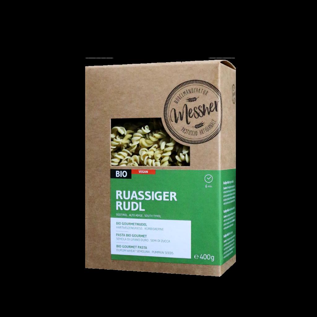 "BIO-Gourmetnudel ""Ruassiger Rudl"""