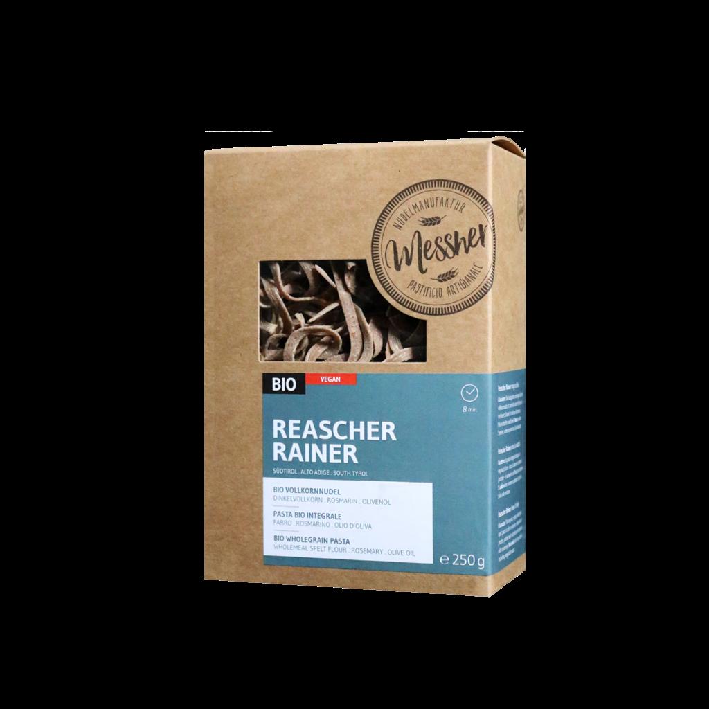 """BIO-Vollkornnudel """"Reascher Rainer"""""""