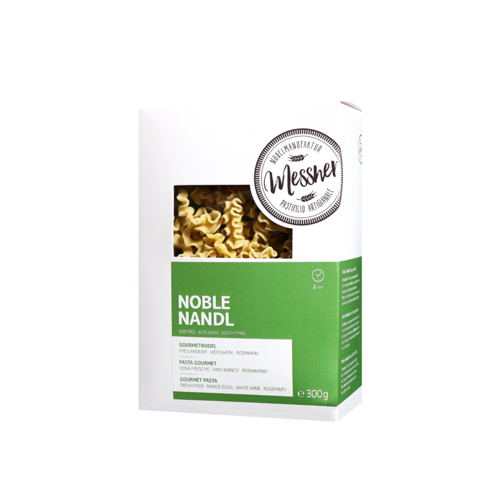 "Gourmetnudel ""Noble Nandl"""
