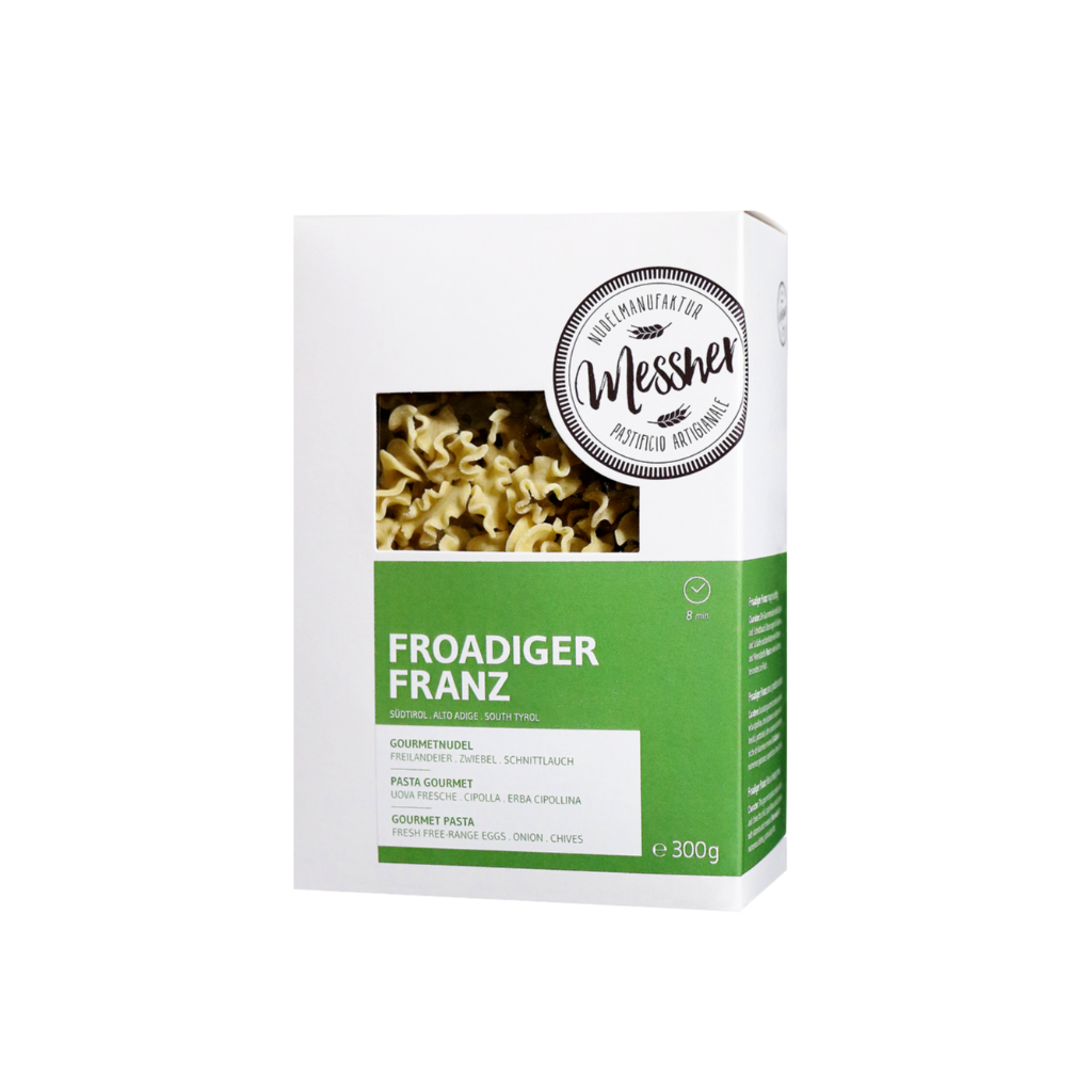 "Gourmetnudel ""Froadiger Franz"""